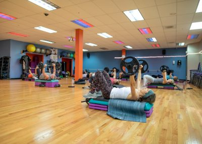 BodyPump Class at Workout Club in Salem