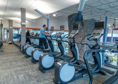 Cardio Deck at Workout Club in Salem