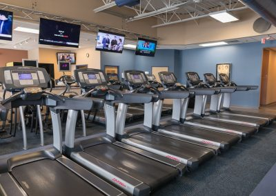 Cardio Equipment at Workout Club in Manchester