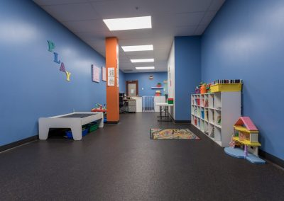 Childcare Area at Workout Club in Salem