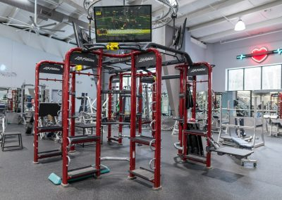 Functional training at Workout Club in Londonderry