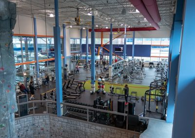 Great gym space at Workout Club in Salem
