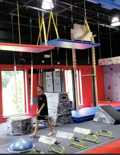 Activities and obstacles for all ages at Ninja Fit Camp