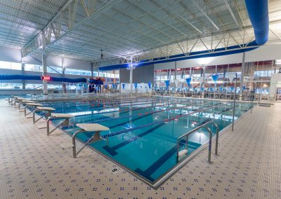 Indoor Lap Pools at Workout Club in Salem