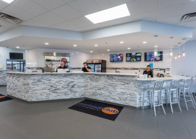 Snack and Smoothie Bar at Workout Club in Londonderry