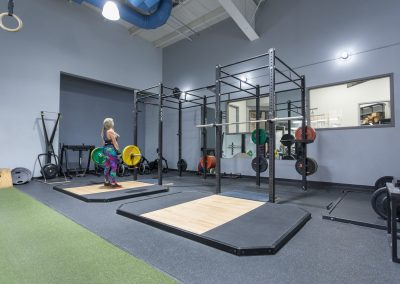 Squat Racks and Heavy Liftying at Workout Club in Londonderry
