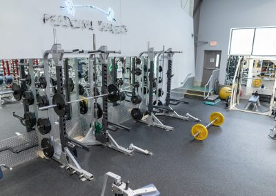 Squat Racks at Workout Club in Londonderry