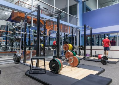 Squat Racks at Workout Club in Salem