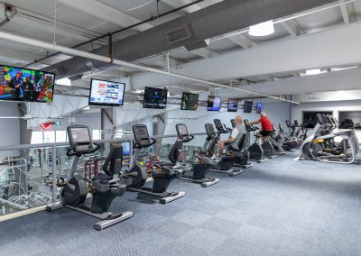 Upstairs Cardio Deck at Workout Club in Londonderry