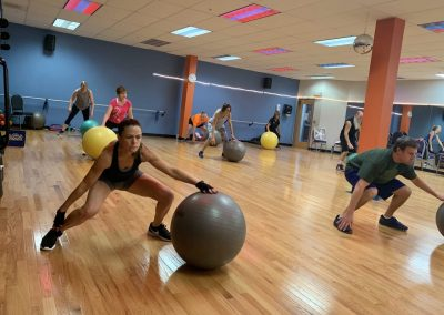Group Fitness Class at the Workout Club in Salem, NH